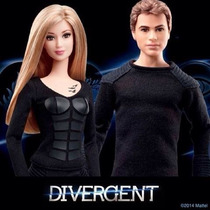 Barbie De La Pelicula Divergente Tris Four Nueva En Su Caja