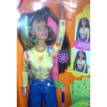 Barbie Morena Happenin Hair