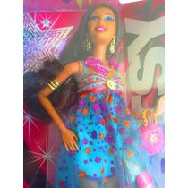 Barbie Fashionista Diva Afro Vestida De Lujo Modelo 4
