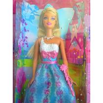 Barbie Con Vestido De Fiesta Color Azul