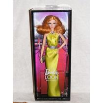 Barbie The Look Red Carpet Vestido Amarillo Louboutin Model