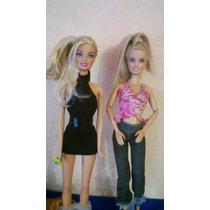 Barbies Princesas, My Scene, Kelly, Stacy. $40