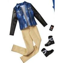 Barbie Moda Ropa De Ken - Blue Jean Chaqueta Con Pantalones