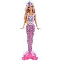 Barbie Cuento De Hadas Mágica Mermaid Doll Rosa