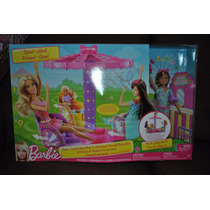 Barbie Set Parque De Perritos Y Parque De Diversiones