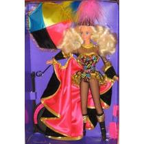 Barbie Estrella De Circo Con Vestuario Espectacular