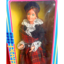 Barbie Scottish De Princesas Del Mundo Del Ano 1980s