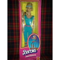 Barbie Aerobica Original De Los 80´s Y Su Gimnasio De Lujo
