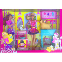 Barbie Set De Centro De Mascotas