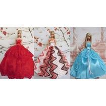 Kupoo Vestidos De Traje De Noche Barbie -la Flor De Cuento D