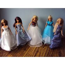 Vestidos Para Barbies, Quinceaños, Novias, Centros De Mesas