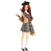 Barbie Muñeca Del Mundo Italia Escocia Rusia Sumatra Francia