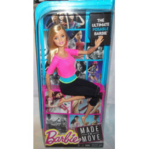 Barbie Fashionistas Made To Move Rubia