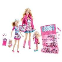 Barbie Hermanas Fiesta De Pijamas Set Por Mattel