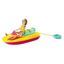 Barbie Hermanas Jet Ski Y Stacie Doll Set