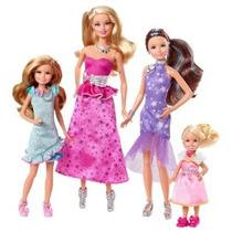 Barbie Y Sus Hermanas En Un Pony Tale Gala Vestido Giftset