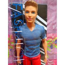 Ken Fashionista Vestimenta Roja Y Azul