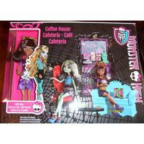 Monster High -cafetería- Monstruo Cafe - Clawdeen Wolf