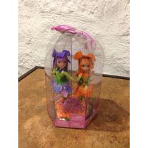 De Barbie Fairytopia Dos Hadas Omma Y Organza