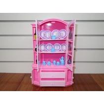 Gloria Buffet & Hutch Juego Barbie De Tamaño Playset