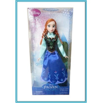 Muñeca Anna Frozen Princesa Disney Collection Ana Barbie
