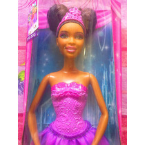 Barbie Afroamericana Bailarina De Pelicula Zapatos Rosas