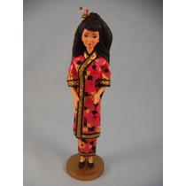 Barbie Figura Chinese Dolls Of The World Mundo Hallmark