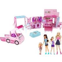 2013 Barbie Hermanas Deluxe Camper Bundle Set De Juegos Con