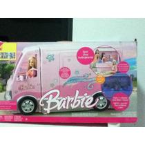 Camper De Día De Campo Barbie