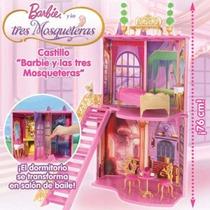 Super Castillo De Las 3 Mosqueteras De Barbie Original Matte