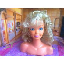 Barbie Cabeza Para Peinar Del Ano De 1988