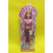 Barbie Sirena Nueva Rosa Fantasia Mattel Original Sin Abrir