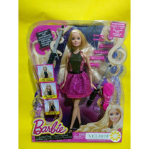 Barbie Tenaza Magica Original Rizos A La Moda Sin Calor !!