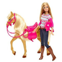Barbie Tawny Caballo Y Doll Set