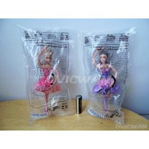 Dos Figuras Barbie Zapatillas Mágicas Kristyn Mcdonalds Ca25