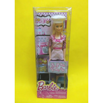 Barbie Chef Nueva Chef De Galletas Mattel Original Quieroser