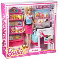 Muñeca Barbie Y Tienda De Comestible/abarrote Blakhelmet Sp