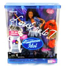 Barbie American Idol Simone 2 Cambios Ropa Zapatos Louvre67