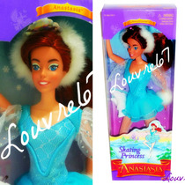 Anastasia Princesa Patinadora Tipo Barbie 97 Galoob Louvre67