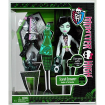 Monster High Scarah Screams, 3 Outfits, Envio Incluido