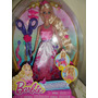 Muñeca Barbie Princesa Peinados Divertidos