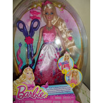 Muñeca Barbie Princesa Peinados Divertidos
