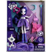 My Little Pony Equestria Girls Rarity Cambios De Ropa Fn4