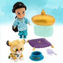 Jasmine Muñeca Mini Animators Coleccion Disney Store
