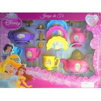Princesas De Disney Juego De Te
