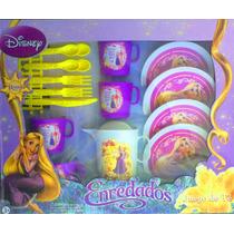 Princesa Rapunzel De Enredados Juego De Te