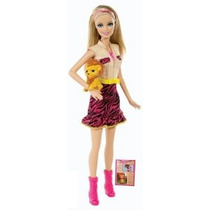 Barbie Hermanas Safari Muñeca Barbie