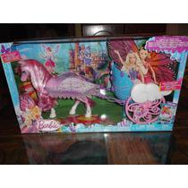 Barbie Pegazo Y Carroza Voladora De Princesa De Las Hadas