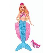 Barbie La Princesa Perla 2-en-1 Transformando Mermaid Doll