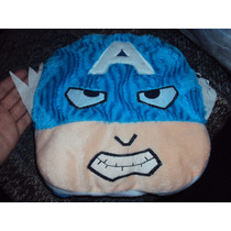 Cara De Capitan America Peluche Almohada Avengers